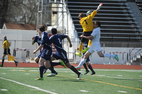 Newton, PCM boys soccer at NHS tourney 4-4-2015