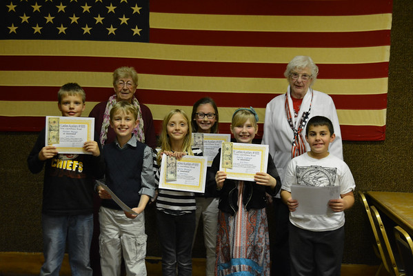 VFW Essay Winners