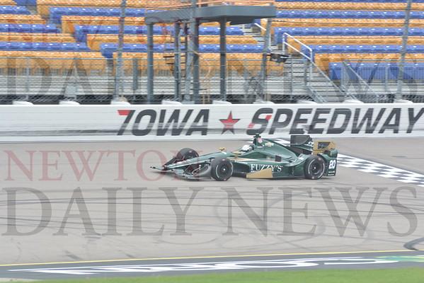 07-01 IndyCar Testing at Iowa Speedway