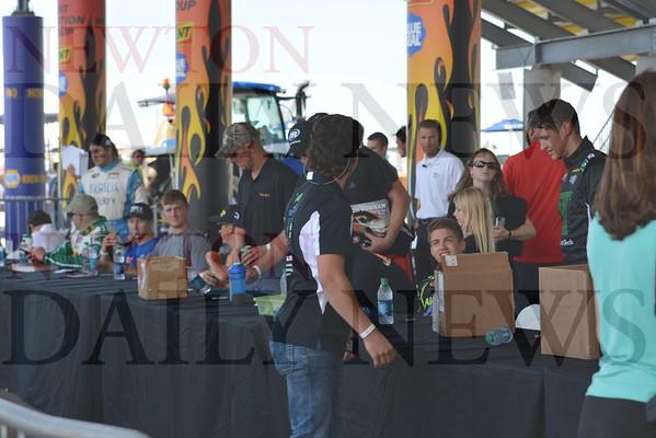 Iowa Speedway Autograph Session July 31, 2015