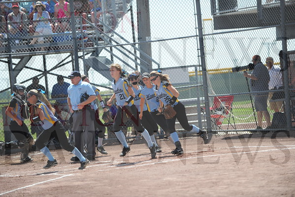 Lynnville-Sully softball state Tuesday 7-21-2015