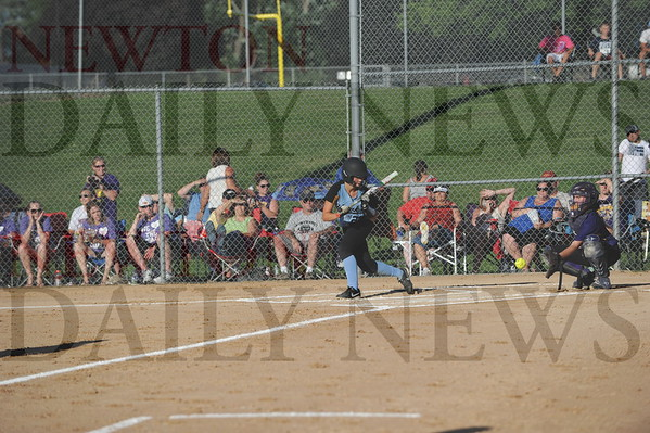 Lynnville-Sully softball regional title game 7-13-2015