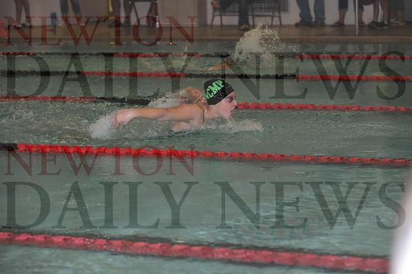 NCMP swim vs. Boone 10-8-2015