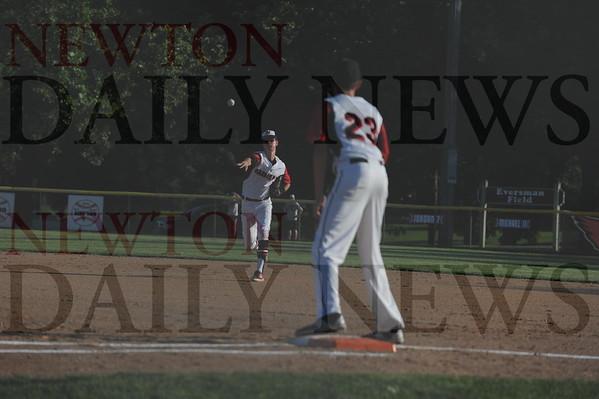 Newton High baseball vs. DM Hoover 7-17-2015