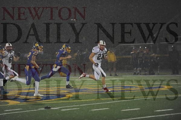 Newton High football at Benton 9-18-2015