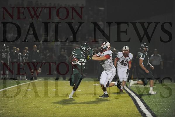 Newton High football at Pella 10-09-2015