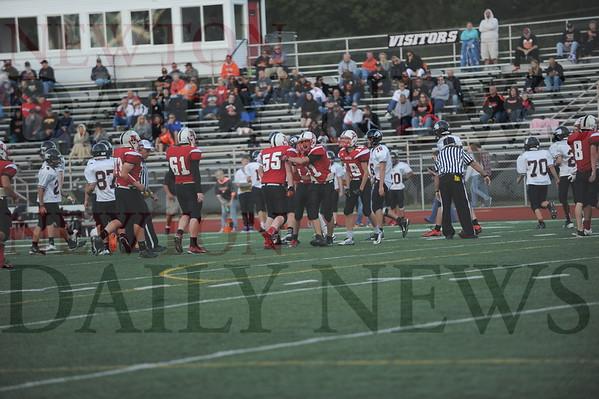 Newton High football vs. Grinnell 9-11-2015