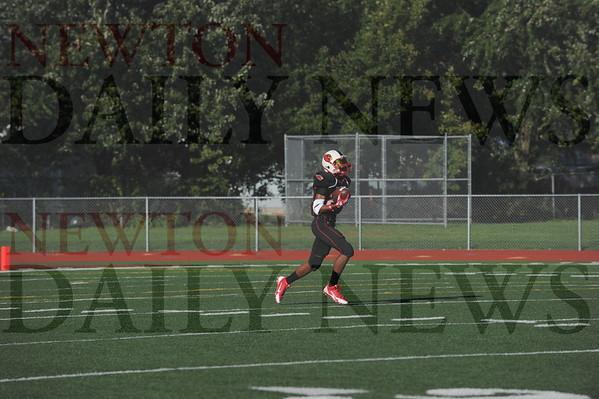 Newton JV football vs. Benton 9-21-2015