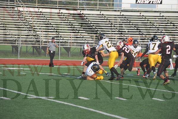 Newton JV football vs. Knoxville 8-31-2015
