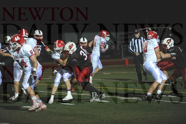 Newton football vs. Ballard 10-2-2015