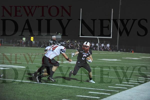 Newton football vs. Gilbert 9-25-2015