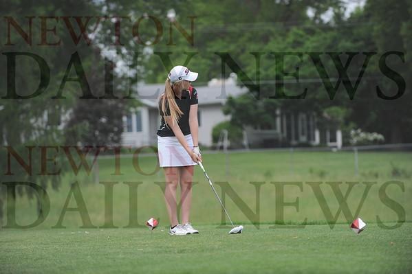Newton girls golf at 4A state 6-2-2015