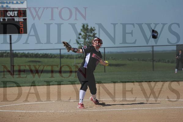 Newton softball vs. Lynnville-Sully 6-9-2015
